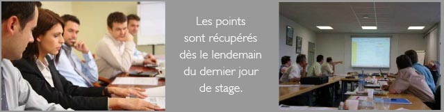 Stage rattrapage de points